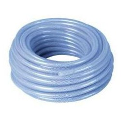 PVC HOSE TEXTILE REINFORCEMENT GLASS 10x14. ROLL 50 meters