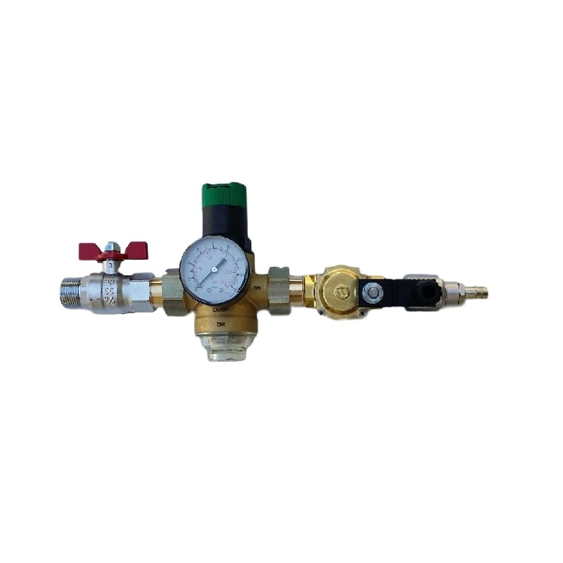 selenoid valve 1 2 distributor with water pressure regulator incoac. Black Bedroom Furniture Sets. Home Design Ideas