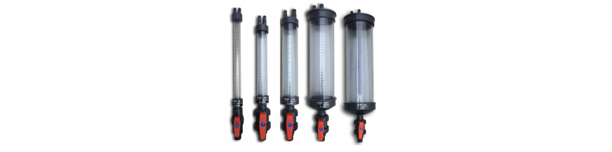 Pvc measuring glass